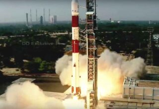 ISRO launches PSLV-C51 carrying Brazil's Amazonia-1 and 18 other satellites