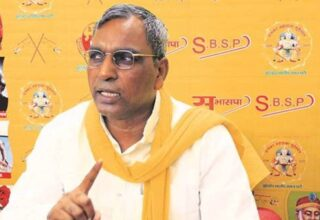 BJP, RSS have made Ram temple a 'medium of business': Rajbhar on alleged Ayodhya land deal fraud